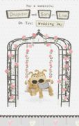 Boofle Daughter and Son-in-law Wedding Card